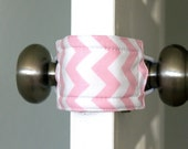 Latchy Catchy in Baby Pink Chevron (Patented)