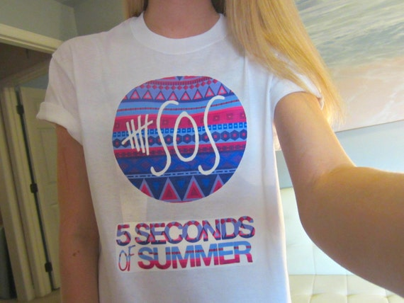 5sos five seconds of summer aztec tribal by candyshopgifts