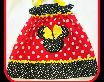 Mickey Mouse Halter Dress