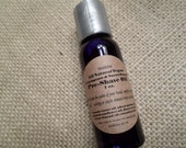 VEGAN- All Natural Lemongrass & Sweet Orange Pre-Shave Oil 1oz.-apply before shaving to soften beard, protect and moisturize