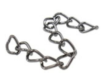 20 strands gunmetal finish 5cm extension chain-8503