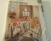 McCall's Craft Pattern 8549 - Home Decorating Baby Room Essentials with Raggedy Ann and Andy