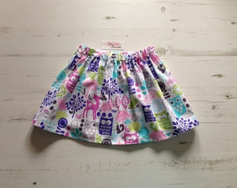 Girls Skirt : Who's in the Forest Skirt Age 2