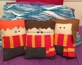 Harry Potter Felt Pillow 3 Pack