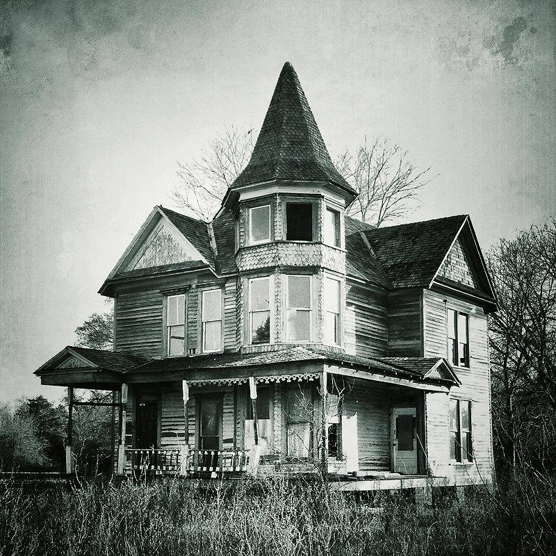 photographie de la maison victorienne abandonn maison maison. Black Bedroom Furniture Sets. Home Design Ideas