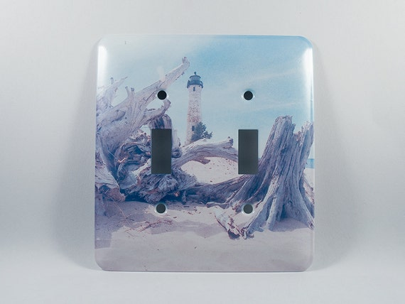 Sale half off light switch cover crisp point michigan for Lighthouse switch plates