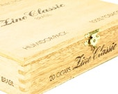 Wooden Fine Classic Brasil Cigar Box - Wood Brass Made In Switzerland