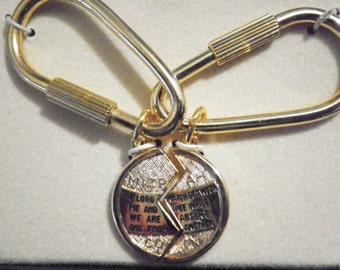 1 Pr. Miz-Pah Prayer Coin Keyrings
