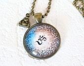 RESERVED FOR ANGELA Om Nasmaste Yoga Necklace