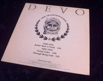 Vintage Devo Vinyl Record Album New Traditionalists Promo 1981