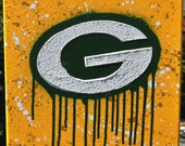 """Green Bay Packers Logo Fine Art """"Back by popular Demad!!"""""""