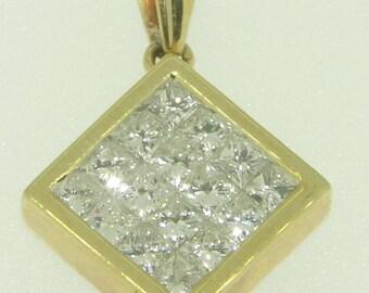 14KY Pendant Diamonds