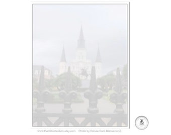 St. Louis Cathedral Notepad - French Quarter