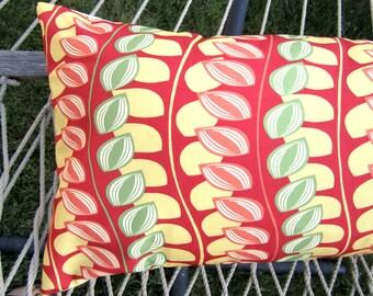 Outdoor Hammock Pillow Cover- 14x36 Citrus Outdoor Hammock Decor