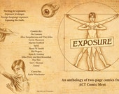 Exposure - a collection of 12 two-page comics