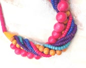 Vintage Torsade Necklace Estate Jewelry c. 1970s