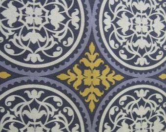 Aviary 2 fabric by Joel Dewberry Scrollwork in granite for Free Spirit Fabrics 1 yard