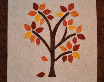 Autumn Happee Tree Quilt