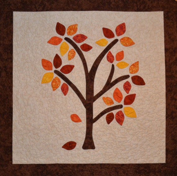 Autumn Happee Tree Quilt