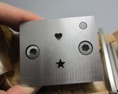 customize your own disc cutter---  jewelry tools. metal forming, gift for jeweler