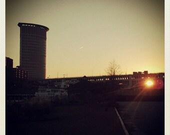Sunrise Over Cleveland