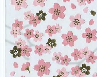 Japanese Mind Wave Stickers - Japanese Sakura Blossom