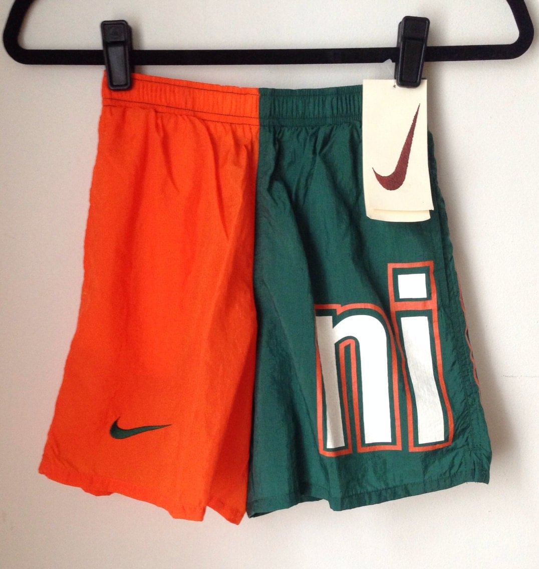 Deadstock Nike Colorblock Athletic Shorts Boys Size Small