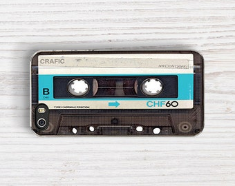 Blue Vintage Cassette iPhone 5 Case,Vintage Tape iPhone 5S Case,Cool Vintage iPhone 4 Case,90's iPhone 4S Case,Retro Cassette iPhone 5C Case