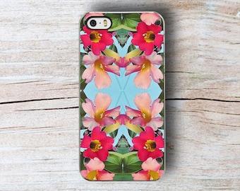 Floral Cruise iPhone 5 Case, Floral iPhone 5S Case summer Pastel iPhone 7 case, Pink Floral iPhone 6s Case, iPhone 6 plus case