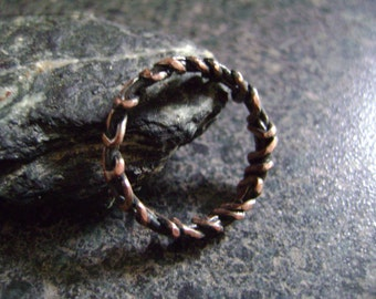 CROWN OF THORNS - Copper Ring, Religious Jewelry, Copper Band, Symbol of Faith, Christian, Jesus Ring, Unisex Ring, Christian Jewelry