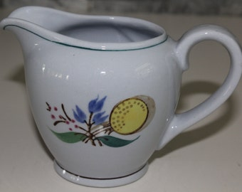 "Cute small pitcher in ""Windflower"" pattern, by Arabia Finland"