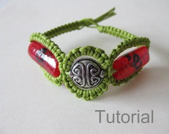 macrame bracelet patterns tutorial pdf braid by knotonlyknots. Black Bedroom Furniture Sets. Home Design Ideas