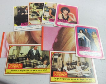 Vintage trading card lot threes company