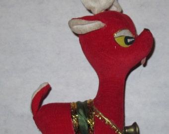 Vintage dakin dream pets reindeer plush