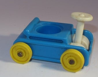 fisher price little people blue go cart