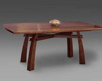 """Torii Dining Table 44 x 72 x 30""""h  Dining Table  Dining Table Handmade"""