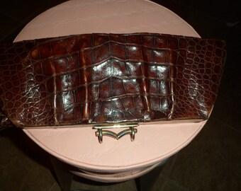 Crocodile-Argentina-- Skin Vintage Purse
