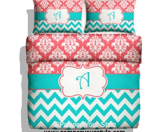 paisley and chevron bedding turquoise pink and purple