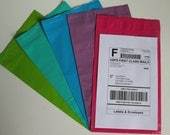 """25 6""""x9"""" Poly Mailer Envelopes - See Colors"""