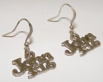 John 3:16  statemen traditional  Earrings