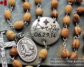 Custom Gift for Godparents, Personalized Godparents Gift, Baptism Boy Gifts, Baptism Girl Gift, Confirmation Gift, Custom Catholic Rosary