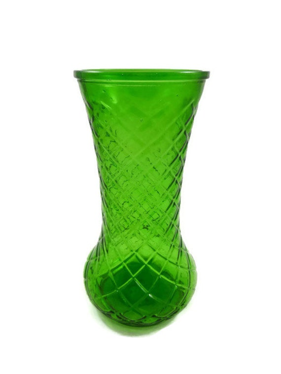 Hoosier Glass Vase 4087 Antage Hoosier Tall Vase Trio Clear Glass