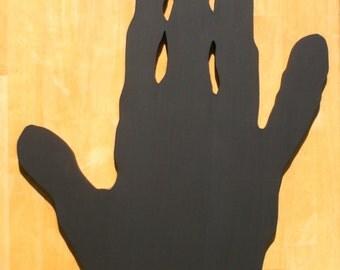 Hand Blackboard / Chalkboard