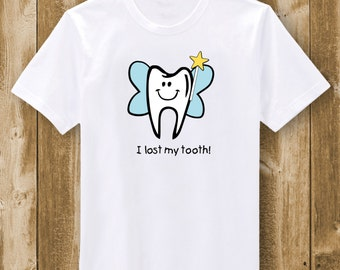My first tooth etsy for Tooth fairy t shirt