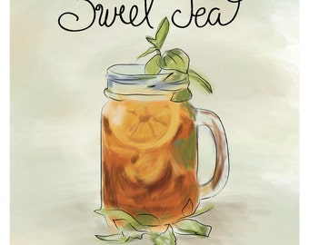 Southern Sweet Tea Print - As Seen in Southern Living