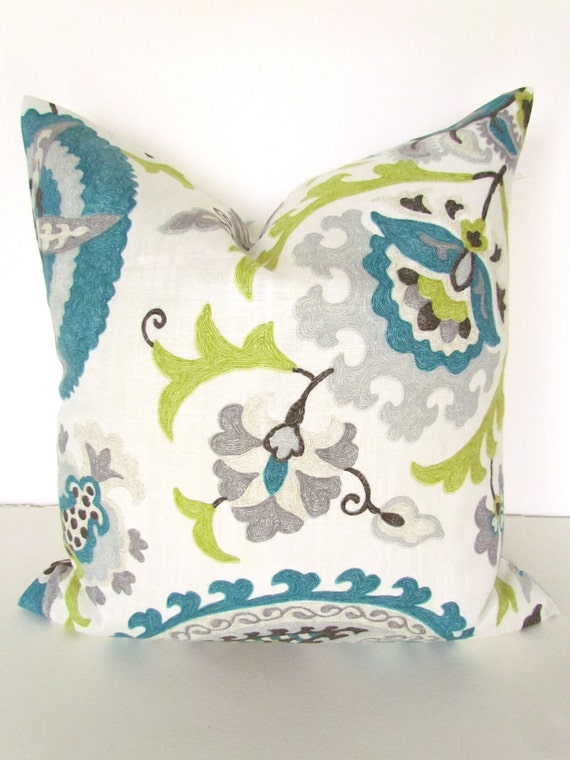 teal pillows blue throw pillows gray pillows lime green throw. Black Bedroom Furniture Sets. Home Design Ideas