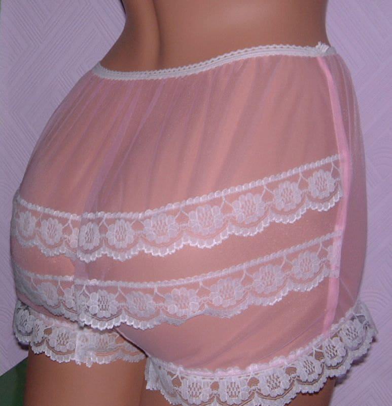 Lace Nylon Panties 3