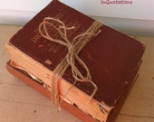 Collection of Vintage Reference Books, Set of 2