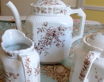 Antique Tea Set for Display