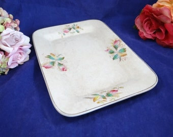 1882 The Potter's Co-operative Co.East Liverpool, Ohio Hand Painted Serving Plate or Platter